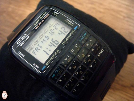 Reloj Vintage Casio Dbc-62 De Colección 80s