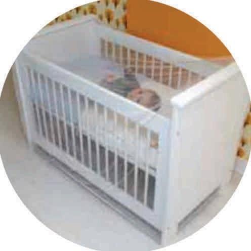 Mosquiteiro Para Cercadinhos E Berco Para Crianças Bebe Top