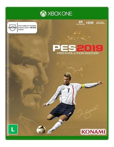 Pro Evolution Soccer 2019 Beckham Edition Xbox One M. Física