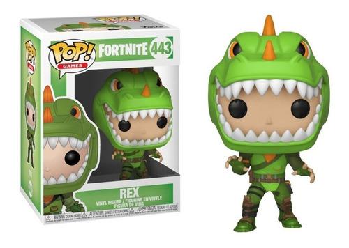 Figura Funko Pop Games Fortnite - Rex 443 Original.!!