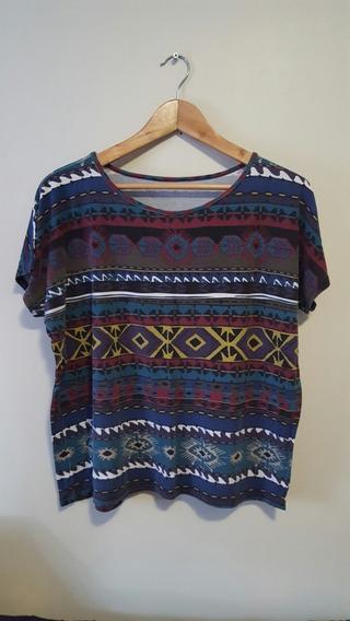 Blusa Camiseta Feminina Estampada
