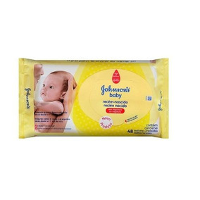Lenços Umedecidos Johnsons Baby Rn Sem Fragrância C/576 Unid