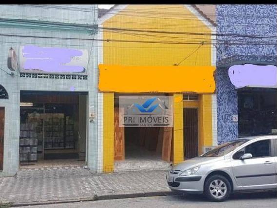 Loja À Venda, 225 M² Por R$ 650.000,00 - Vila Matias - Santos/sp - Lo0013