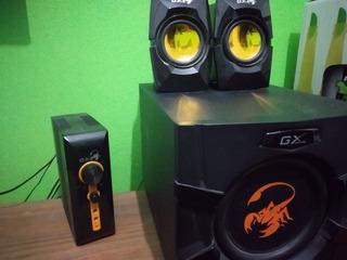 Parlantes Gamer Genius Gx Sw-g2.1 3000. Oportunidad