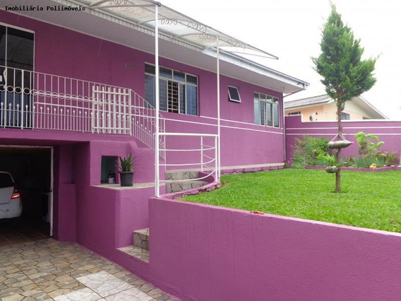 Casa Para Venda Em Araucária, Iguaçu, 4 Dormitórios, 2 Banheiros, 2 Vagas - Ca0408