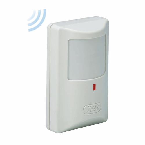Imagen 1 de 4 de Sensor Detector Movimiento Inalambrico Pir Pasivo Md70w X28 Alarmas