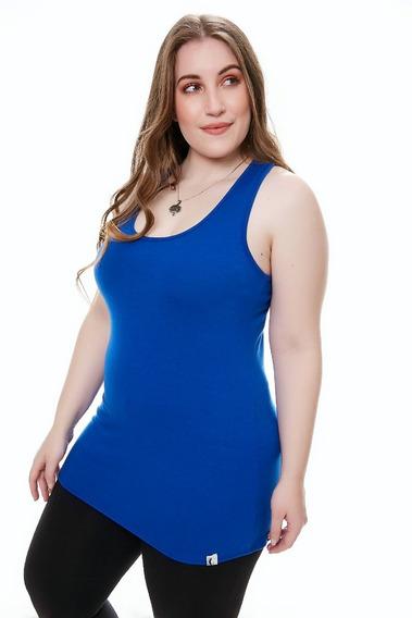 3 Musculosa Basica Mujer X 3 Modal Talle Grande Memoria Cero