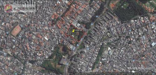 Terreno  Comercial À Venda, Parque Fernanda, São Paulo. - Te0034