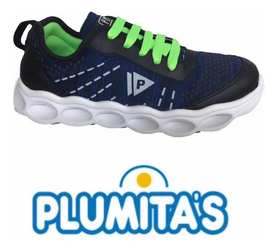 Zapatillas Plumitas Niños Deportivo E12 Ultra Liviana 25/36