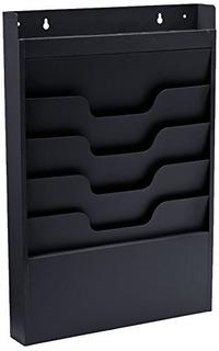 Buddy Productos Tarea Archivo Organizador Rack Acero 4 Bolsi