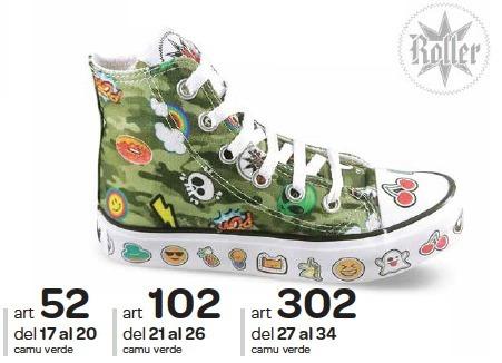 Zapatillas Led Roller T17 Al T20 Art 52