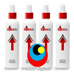 Xtragel Original Kit Com 2 Frascos