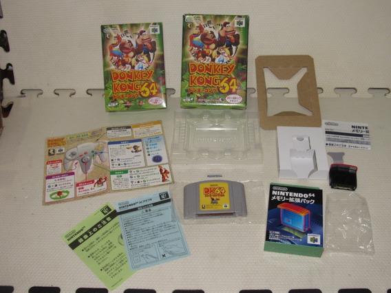 Donkey Kong 64 Japones Com Expansão Completíssimo