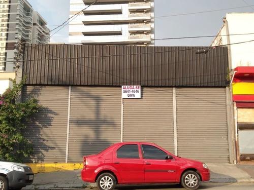 Locação Salão - Chácara Santo Antônio, São Paulo-sp - Rr4405