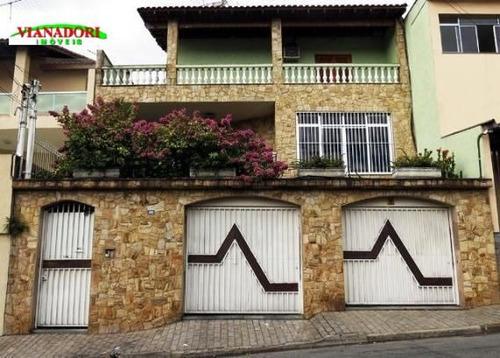 Imagem 1 de 17 de Sobrado Residencial À Venda, Vila Rosália, Guarulhos. - So0315