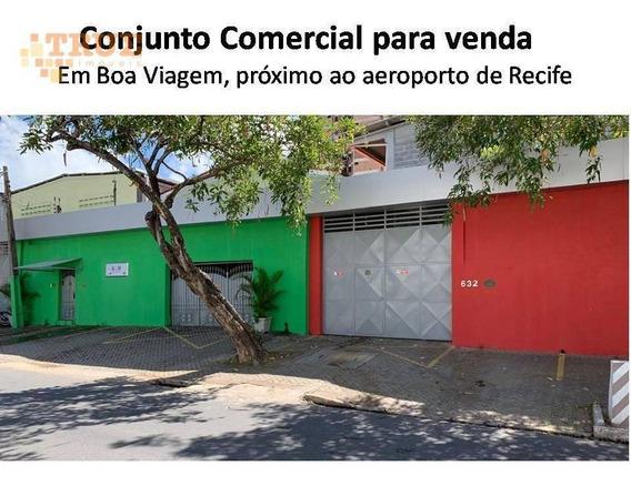 Conjunto Comercial - Galpão + Casa Com 875 M² - Ga0061
