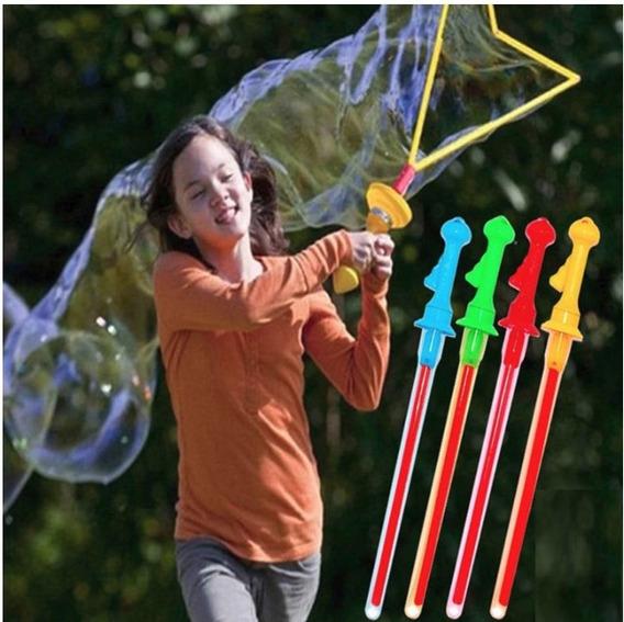 2 Espada Bolha Crianças Bolhas De Sabão Gigante