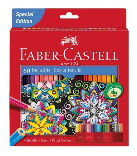 Imagen 1 de 3 de Faber-castell Caja De 60 Colores