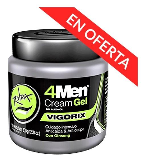 Rolda 4men Cream Gel Vigorix 350g (3 Pack)