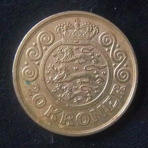 Dinamarca 20 Coronas 1998 Mb Km 878