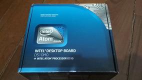 Placa Mãe Original Intel D510mo C/ Atom D510 C/ Espelho 4gb