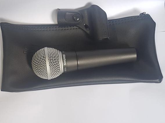 Microfone Profissional Shure Sm 58