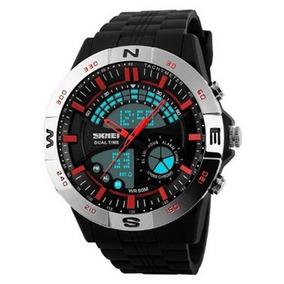 Relógio Masculino Skmei Anadigi 1110 Pr-vm 5039