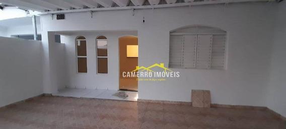 Casa Com 2 Dormitórios Para Alugar, 210 M² Por R$ 900,00/mês - Jardim Europa I - Santa Bárbara D