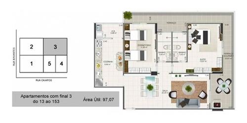 Imagem 1 de 17 de Apartamento - Aluguel - Tupi - Praia Grande - Jsan93