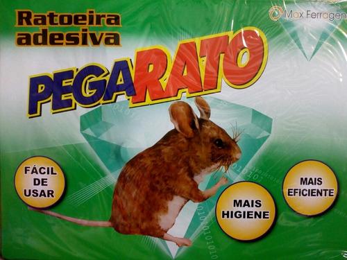 Ratoeira Adesivo Pega Rato