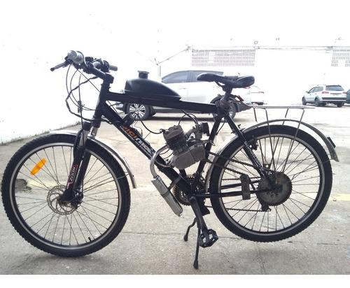 Imagem 1 de 8 de Bicicleta Motorizada 80cc