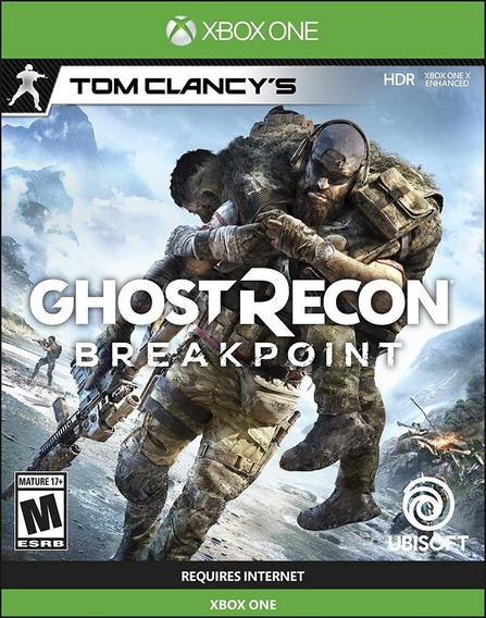 Ghost Recon Breakpoint Xbox One Código 25 Dígitos
