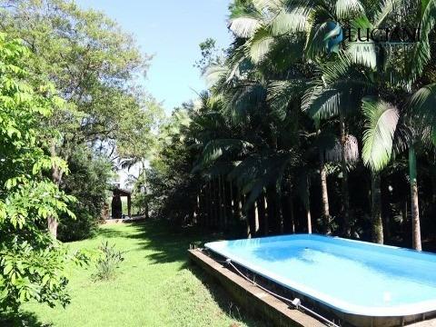 Linda Chácara Com Casa De 200m² Com 3 Dormitórios À Aproximadamente 12 Km Do Centro De Itajaí - Ch00001 - 4223744