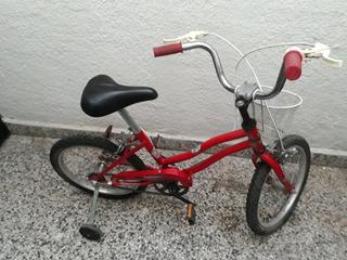 Bicicleta De Nena Rod 16 Usada