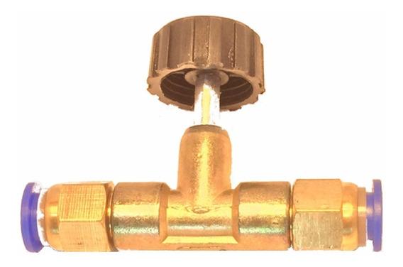 Adaptador Conector Registro Purificadores Água E Vapor 6mm.