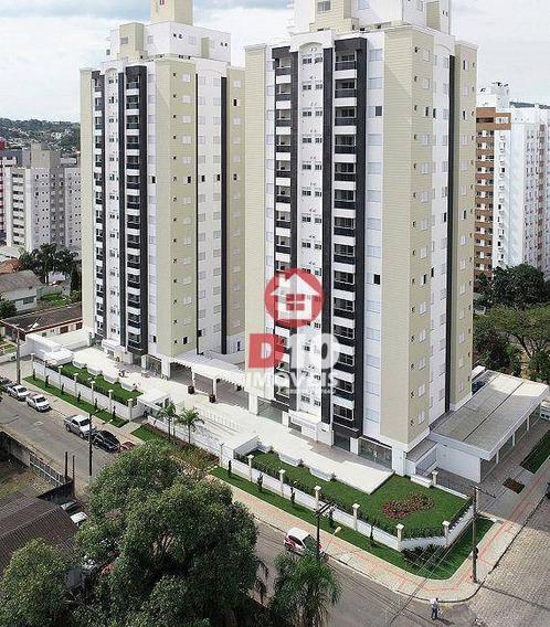 Apartamento À Venda Por R$ 589.101,75 - Centro - Criciúma/sc - Ap0876