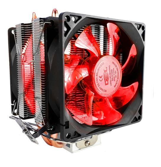 Cooler Duplo Dual Fan Pc Intel Amd 775 1151 1155 Am3 Am4