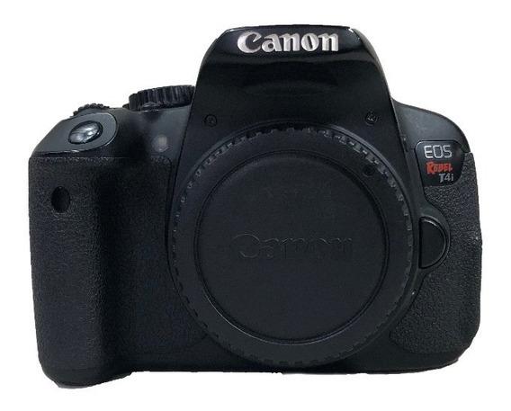 Câmera Canon T4i Corpo Usada C/ Garantia Lojista Promoção
