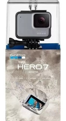 Câmera Digital Gopro Hero 7 10.1mp Com Wi-fi Branca