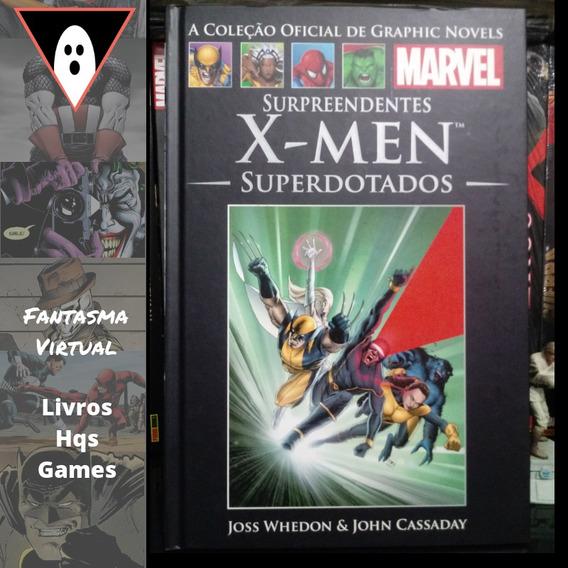 Hq Surpreendentes X-men: Superdotados Salvat Mxthq