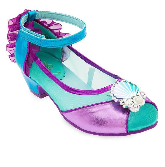 Disney Store Zapatos Ariel La Sirenita
