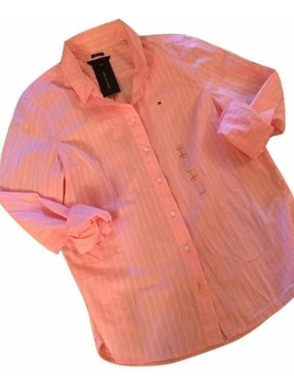 Tommy Hilfiger Camisas Únicas Originales Eeuu Colecc. 2020!!