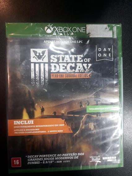 State Of Decay Xbox One Lacrado (frete 18 Reais)
