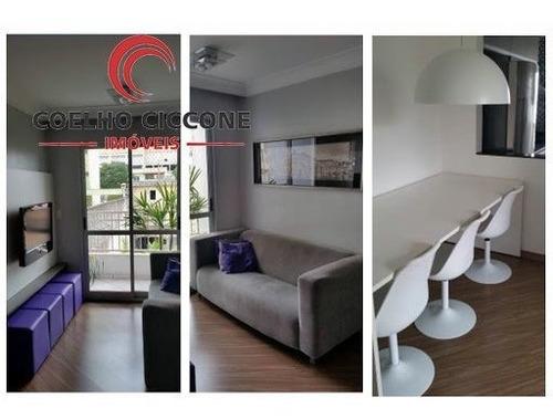 Imagem 1 de 11 de Apartamento Em Vila Principe De Gales - Santo Andre - V-3300