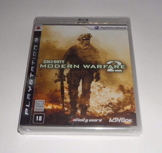 Call Of Duty Modern Warfare 2 Original Lacrado Física Ps3