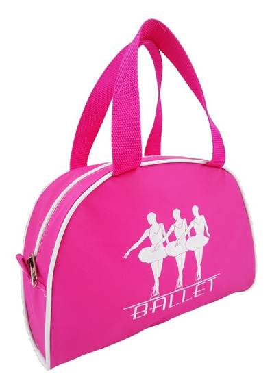 Bolsa Para Ballet Cor Pink Meia Lua