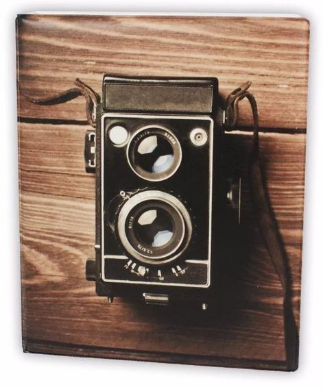 Album Fotografico Câmera Retro P/ 500 Fotos 10x15