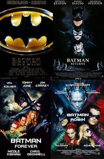Saga Batman - Peliculas Digital-