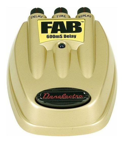 Pedal Para Guitarra Delay D-8 Fab - Danelectro 600ms