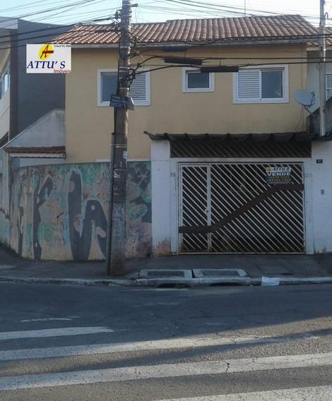 Sobrado A Venda No Bairro Jardim Almeida Prado Em Guarulhos - 3718-1